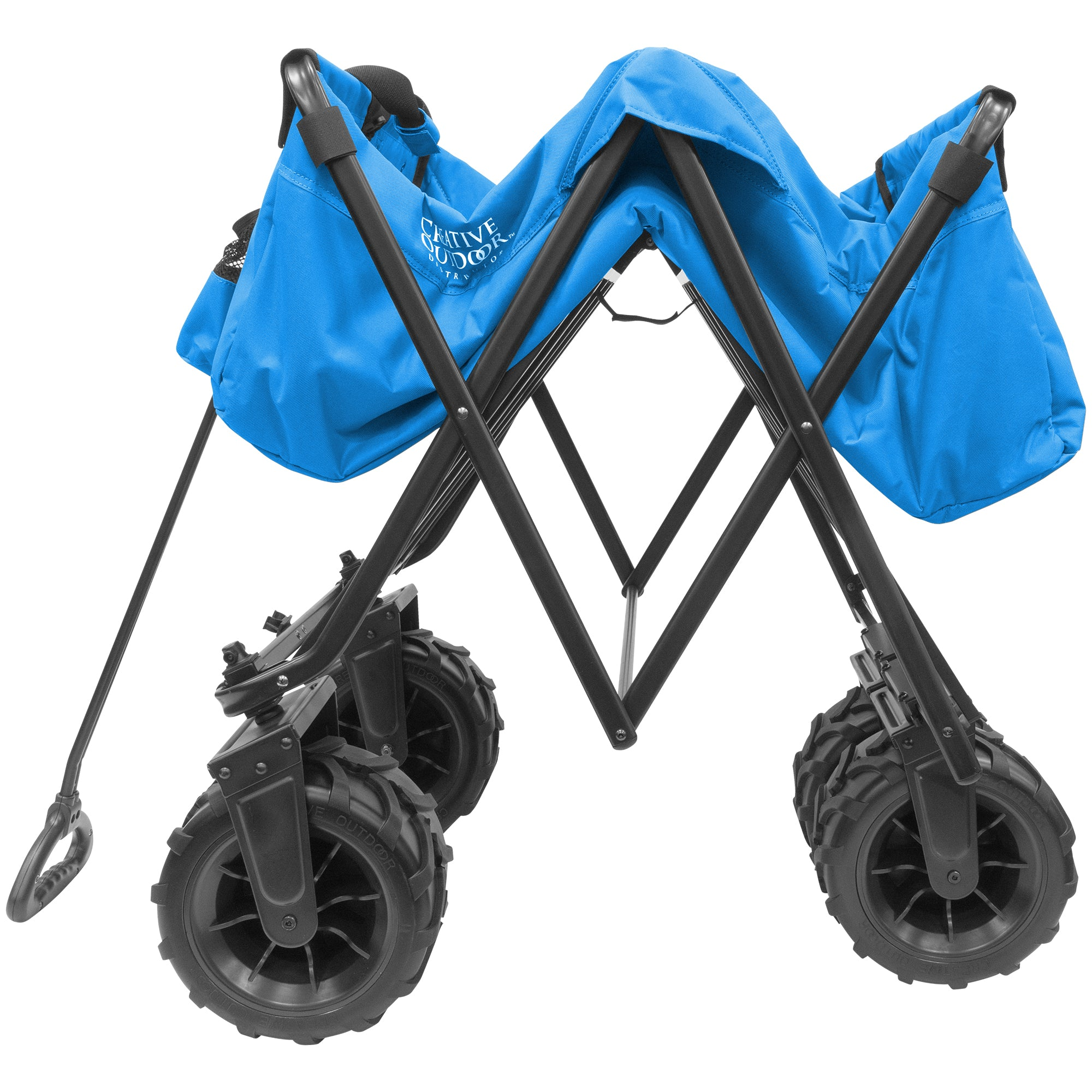 XXXL Monster Folding Wagon Blue Folding