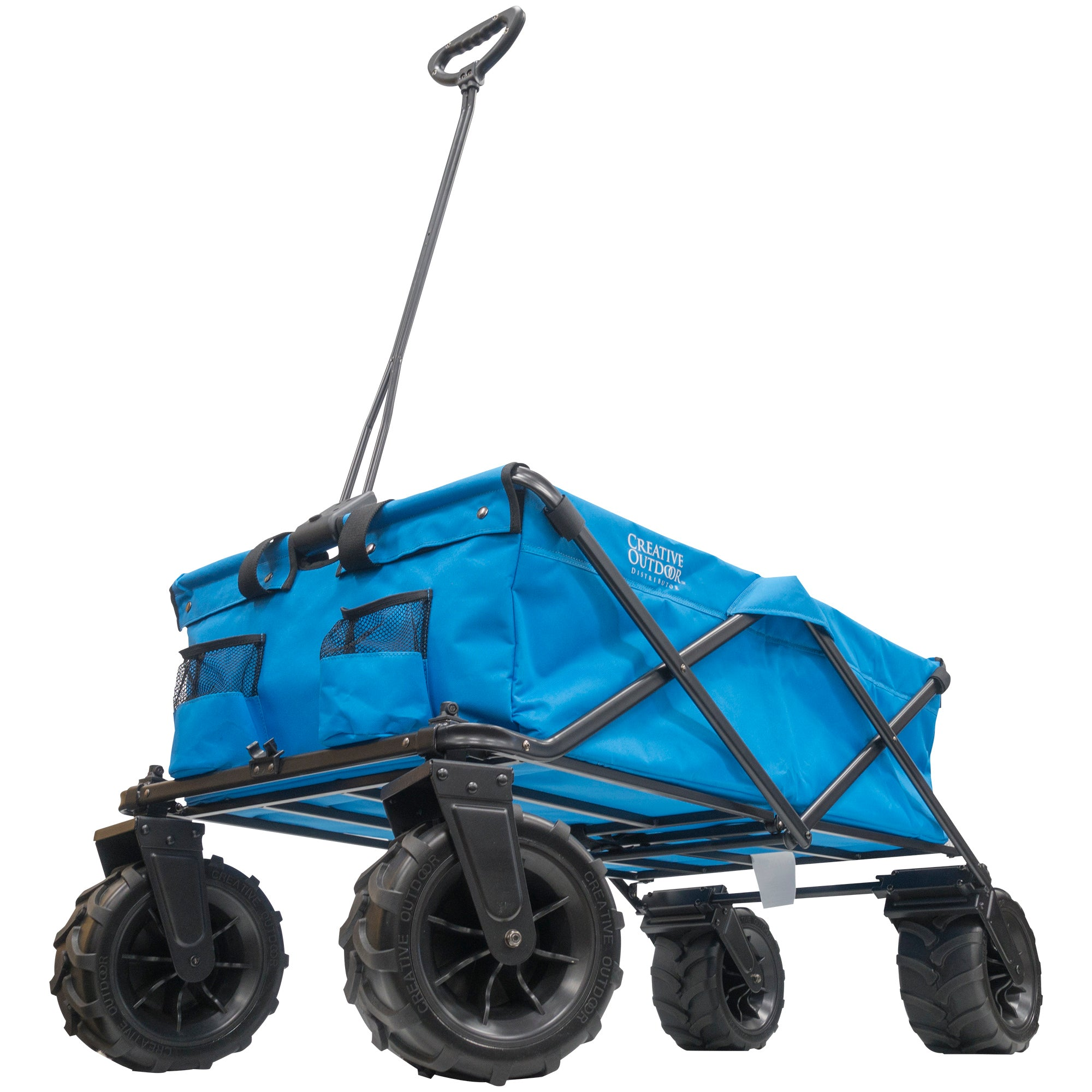 XXXL Monster Folding Wagon Blue