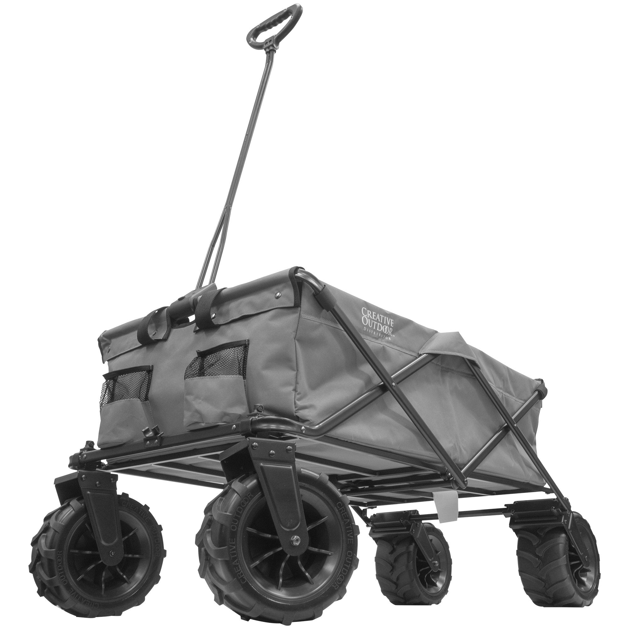 XXXL Monster Folding Wagon Gray