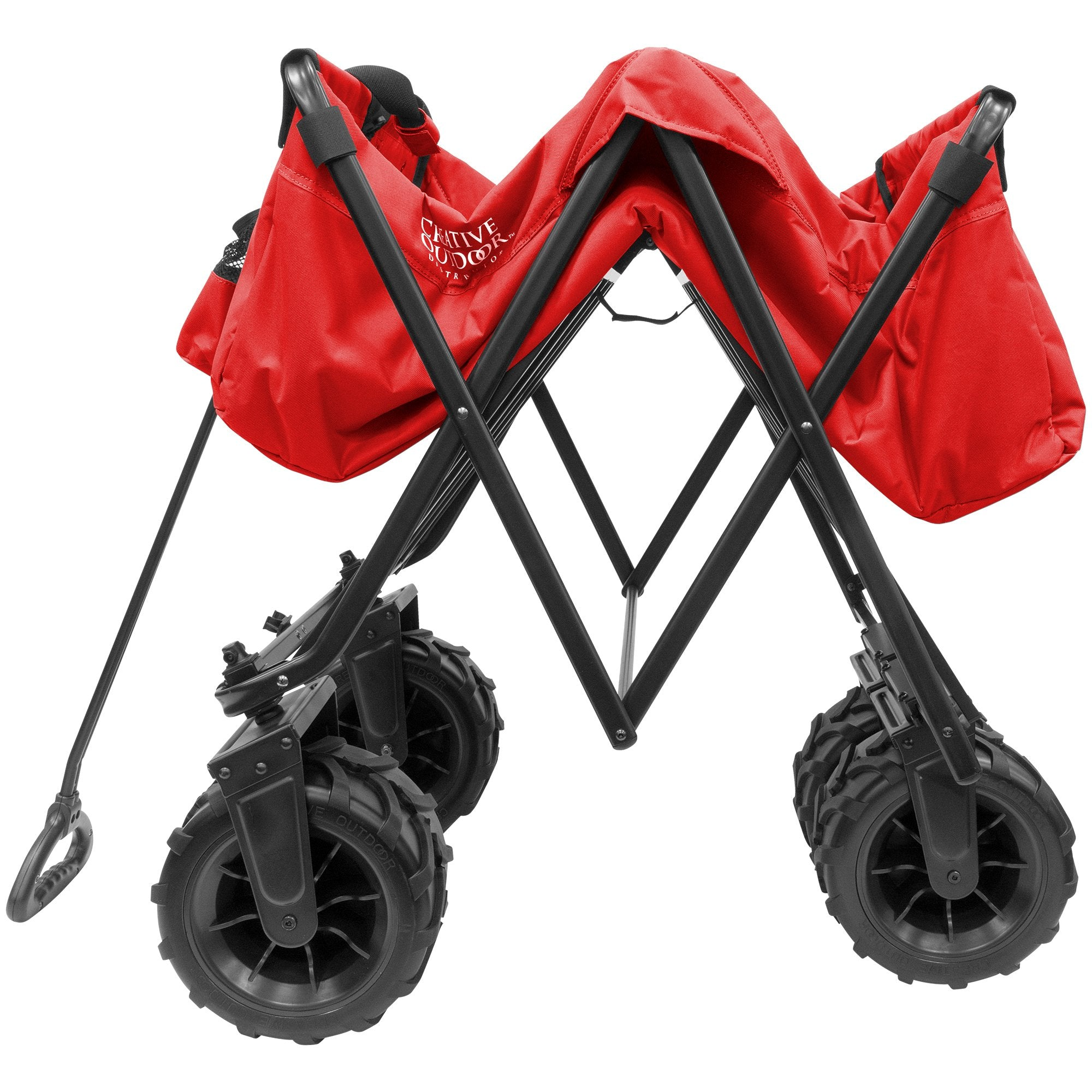 XXXL Monster Folding Wagon Red Folding