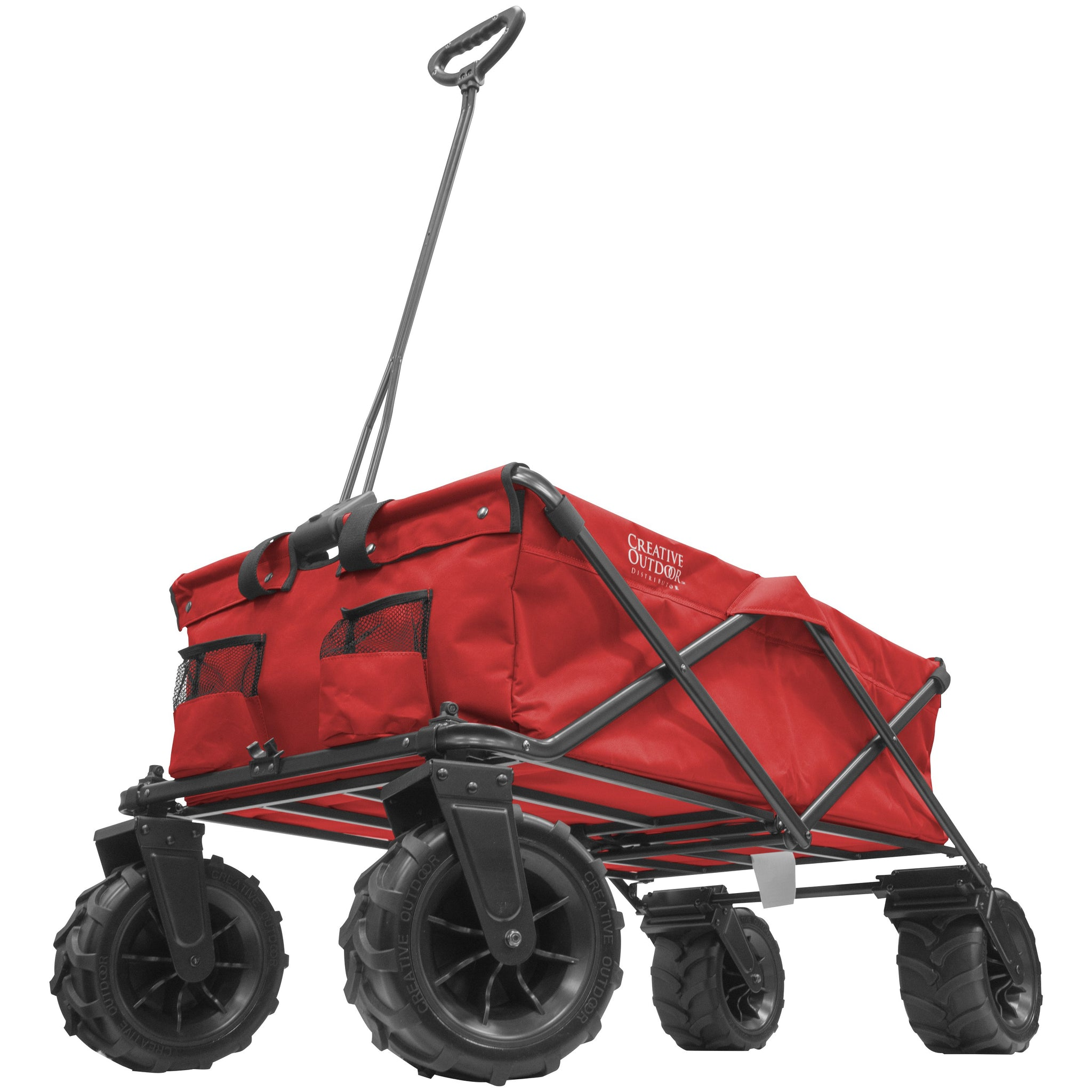 XXXL Monster Folding Wagon Red