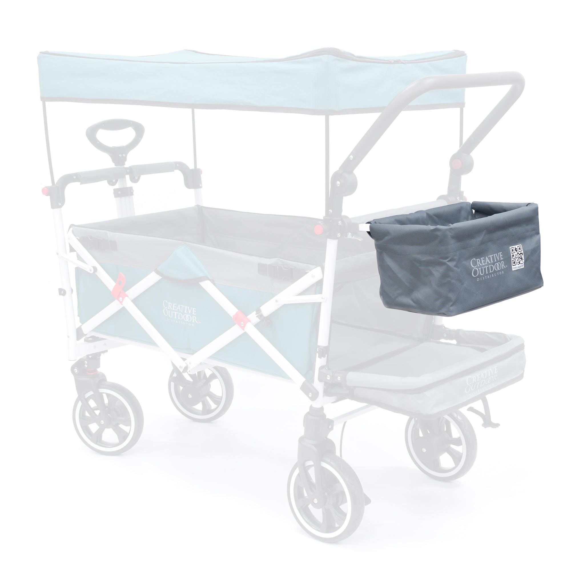 Push Pull Folding Wagon Replacement Basket Fabric