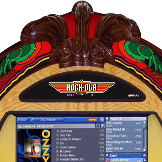 Rock-ola Bubbler Gazelle Digital Music Center