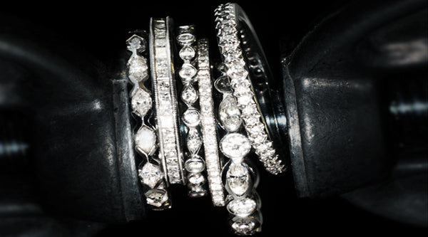 unique wedding bands stackable rings catherine rings