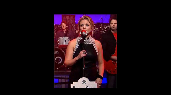miranda lambert in catherine angiel on the late show with david letterman
