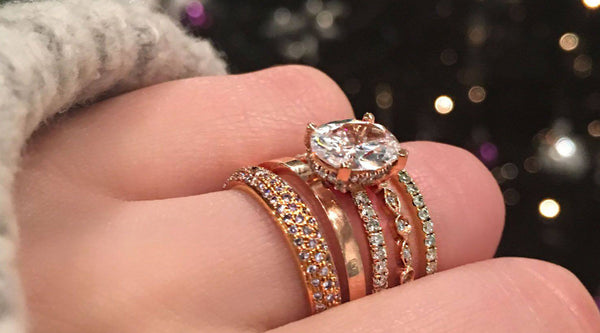 Stacking Rings for the Holidays