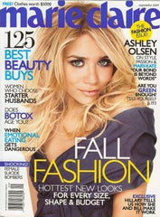 Ashley Olsen Marie Claire cover catherine angiel jewelry