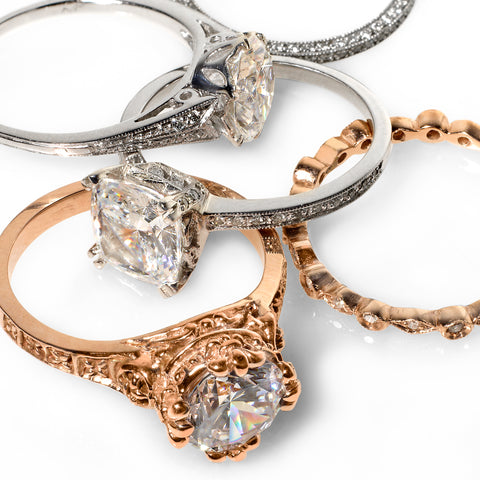 Catherine Angiel Engagement Ring Collection
