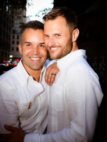 Catherine Angiel gay couple married in NYC