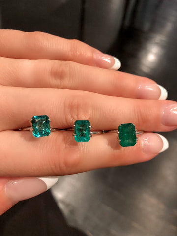 Catherine Angiel Emeralds from Brazil