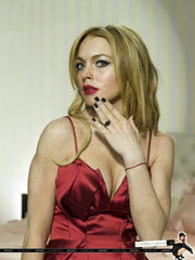 Catherine Angiel jewelry on Lindsay Lohan Radar Mag