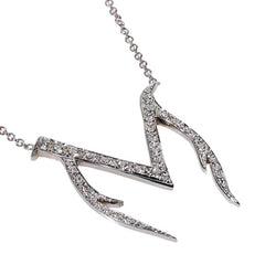 personalized diamond necklace