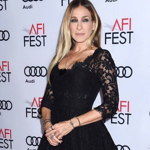 Sarah Jessica Parker wearing Catherine Angiel Black Diamonds