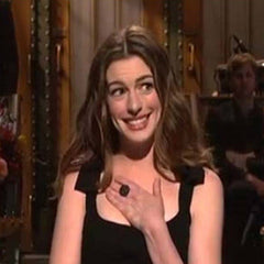 Anne Hathaway Saturday Night Live Catherine Angiel Ring