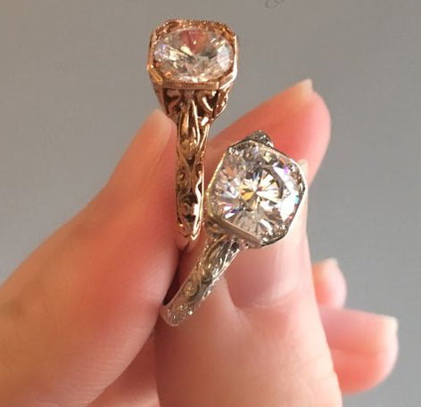 Catherine Angiel Vintage Inspired Engagement Rings