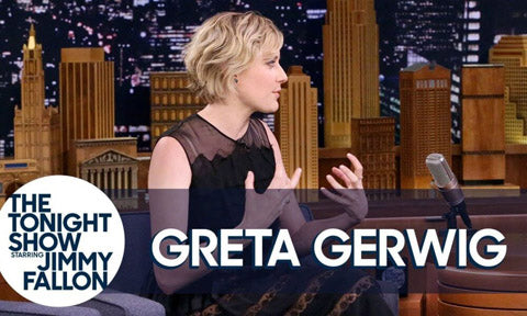 Greta gerwig on the tonight show with jimmy fallon