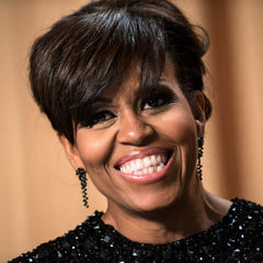 Michelle Obama wearing Catherine Angiel Earrings