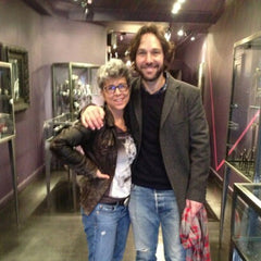 Paul Rudd with jewelry designer Catherine Angiel