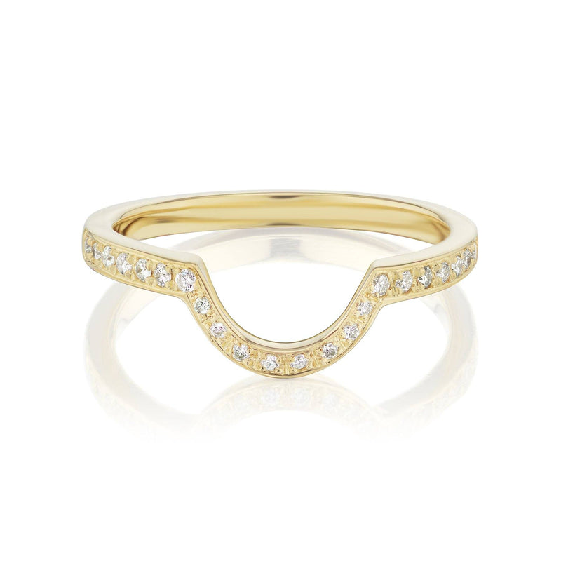Diamond Nesting Ring