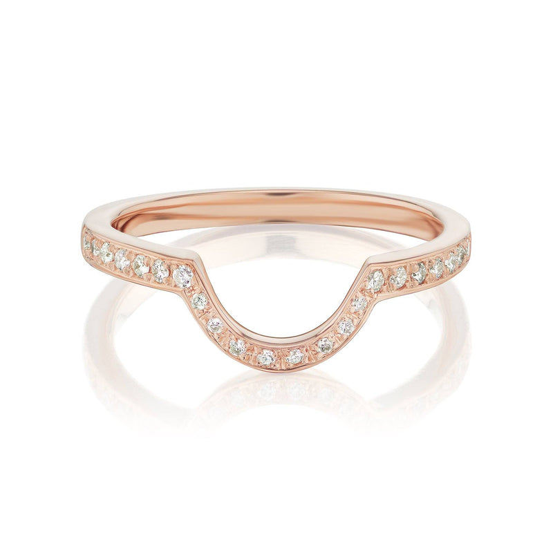 Diamond Nesting Ring Rose Gold