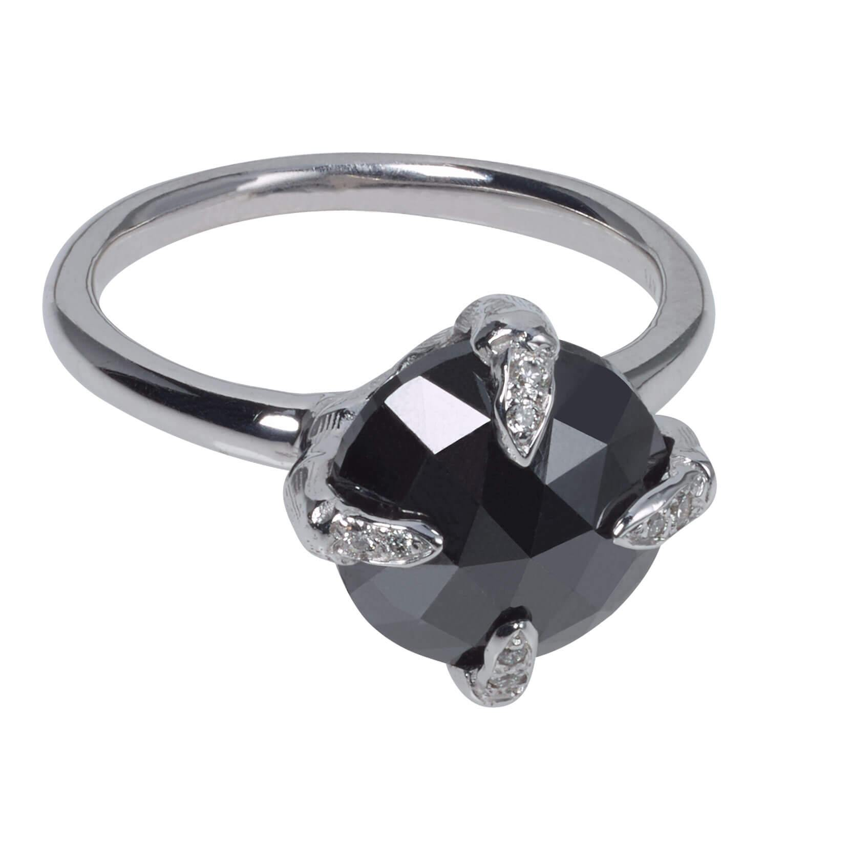Unique Black Diamond Ring Catherine Angiel