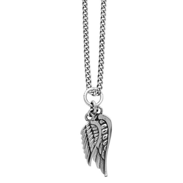 King Baby double winged necklace
