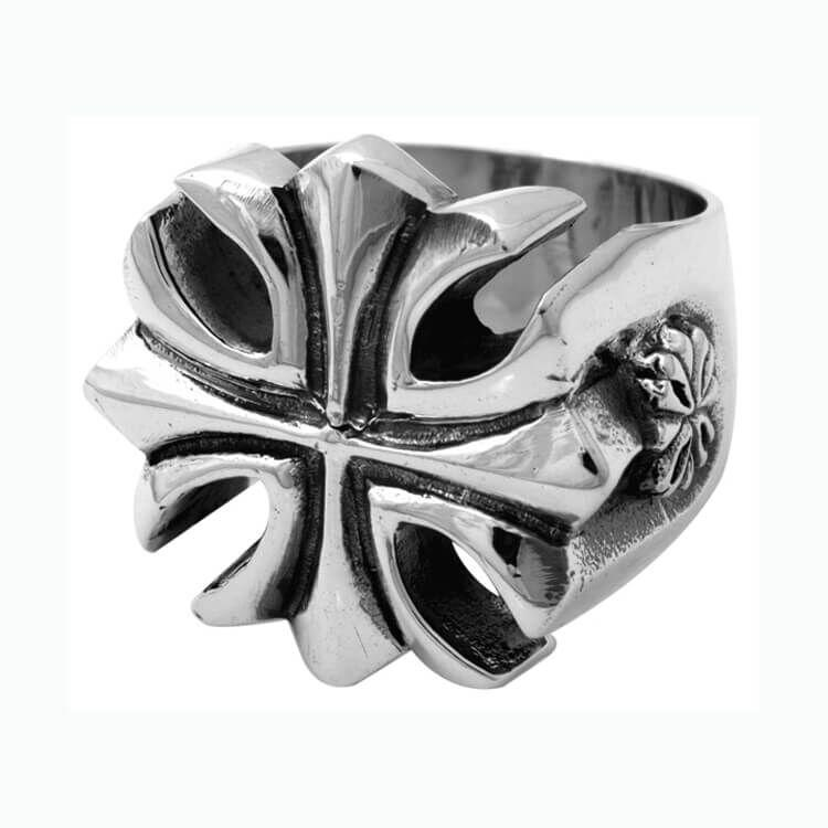 King Baby Gothic Cross Ring