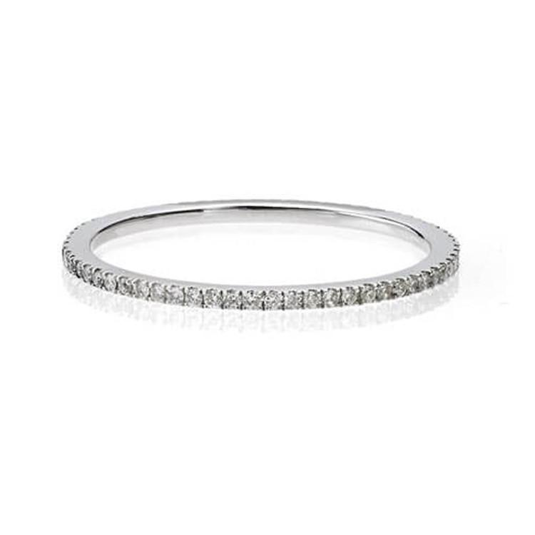 band daussi pave bands row henri c domed diamond