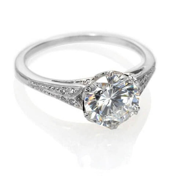 Vintage Engagement Rings Nyc Unique Custom Engagement Rings Catherine Angiel