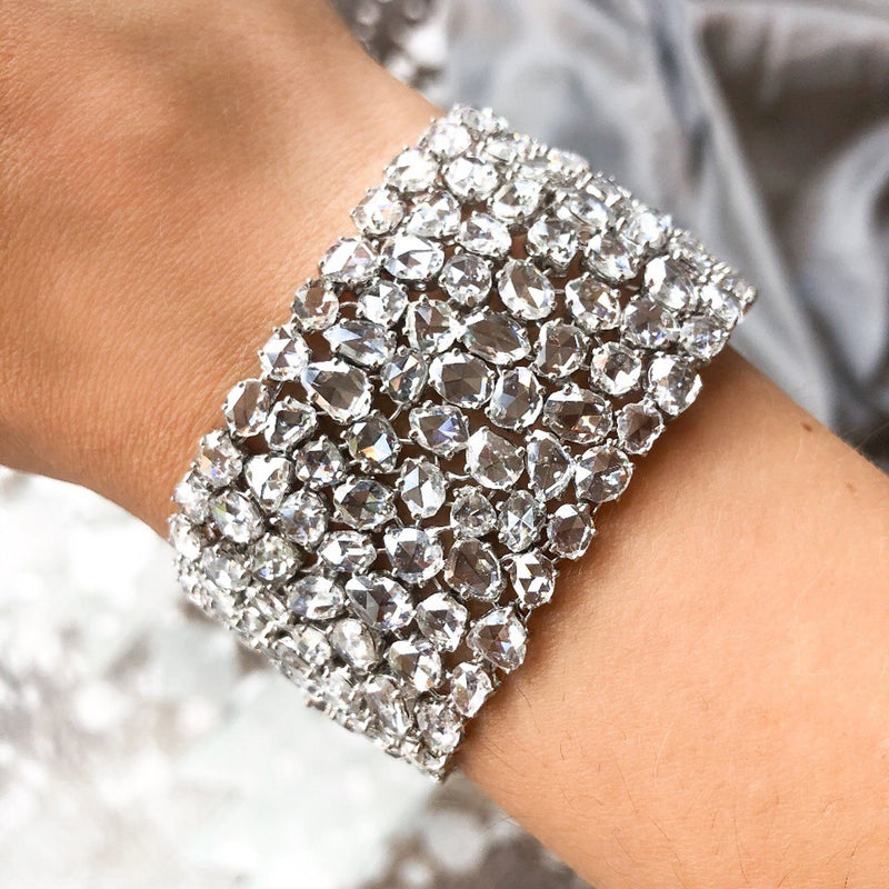 Rose Cut Diamond Bracelet