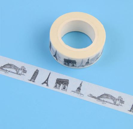 Travel Theme Washi Tape