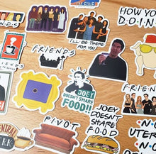 Load image into Gallery viewer, FRIENDS Die Cut Stickers
