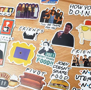 FRIENDS Die Cut Stickers