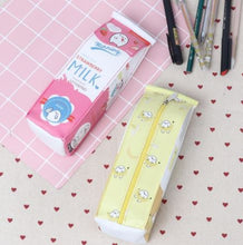 Load image into Gallery viewer, Kawaii Milk Pencil Pouch Case