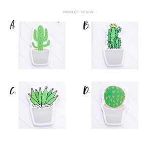 Fresh Cactus Sticky Notes