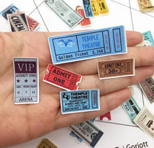 Load image into Gallery viewer, Mini Ticket Stub Ephemera