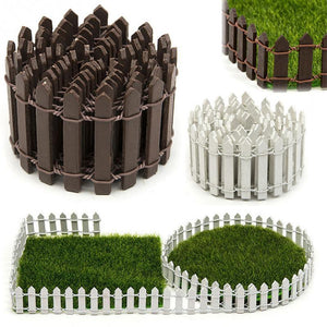 Miniature Small Wood Fencing