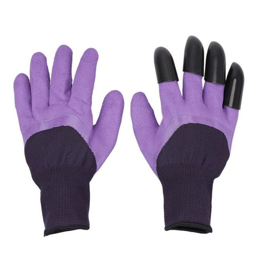 1 Pair Garden Gloves For Digging