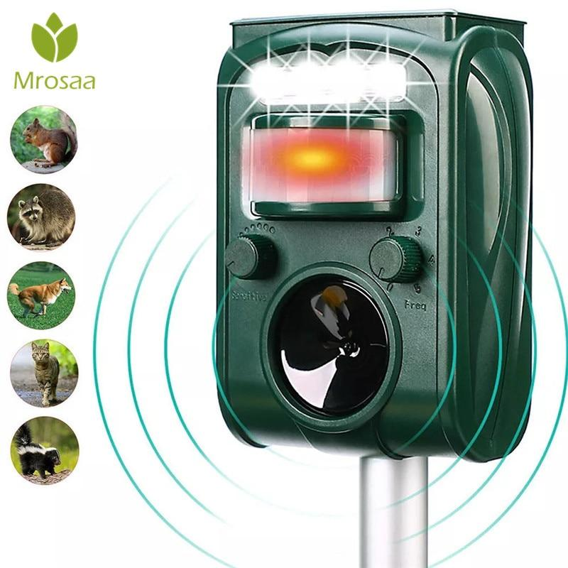 Garden Solar Ultrasonic Animal Repellent