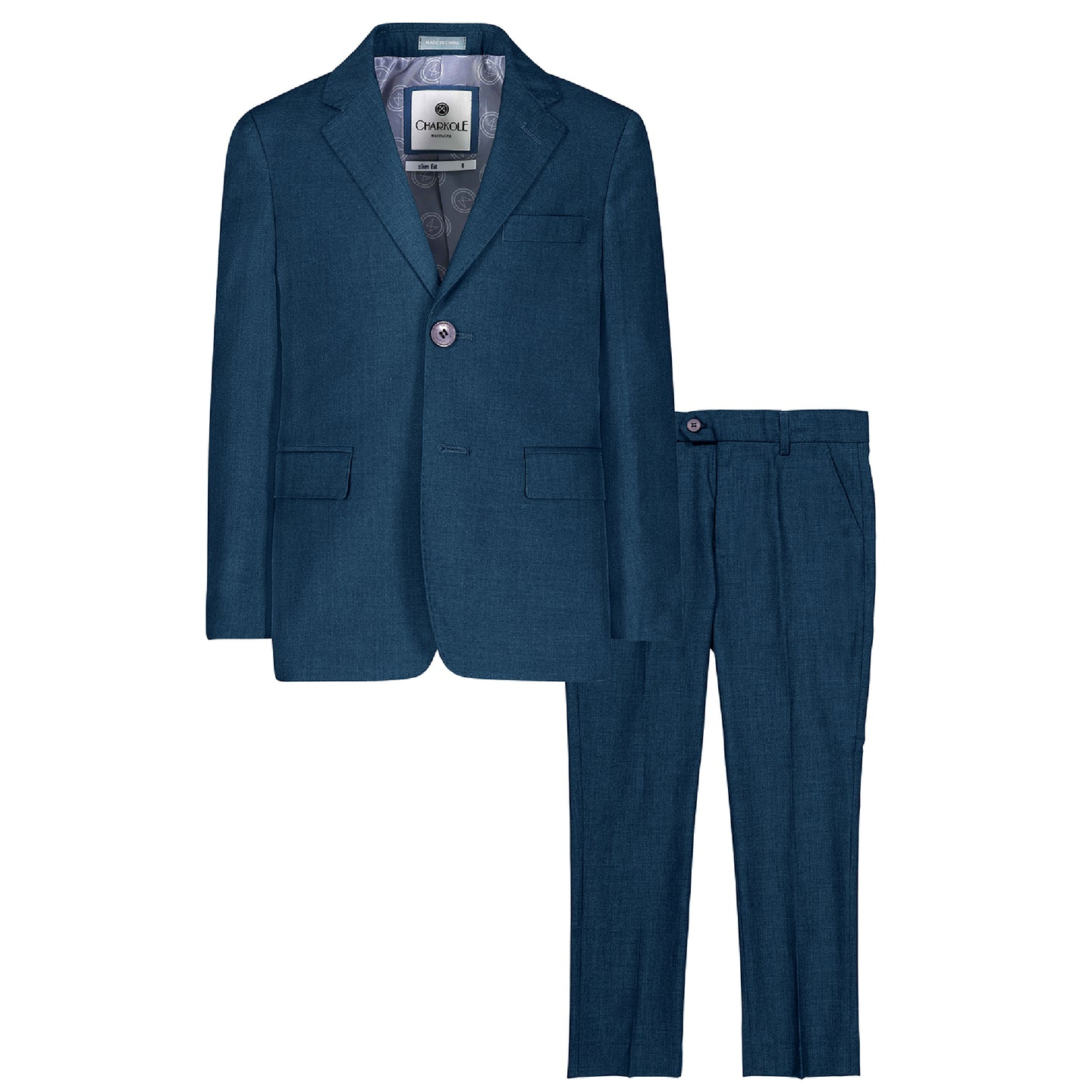 Teal Two Piece Suit