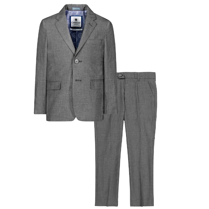 Grey Two Piece Suit
