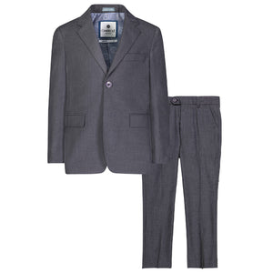 Medium Grey Two Piece Suit
