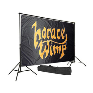 Backdrop pakke m/stativ