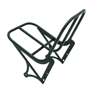 Front Cargo Delivery Rack Uni Moke Swing Bicycle Rack front black