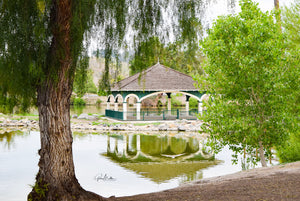 Lindo Lake Gazebo Reflection