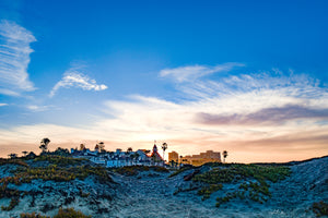 Sunrise Over the Dunes in Coronado