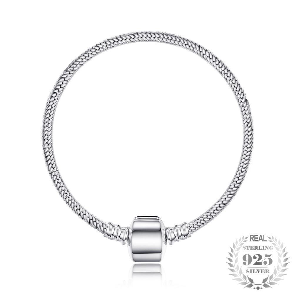 Silver Geometric Charm Bracelet Bangle - Jewellica.com