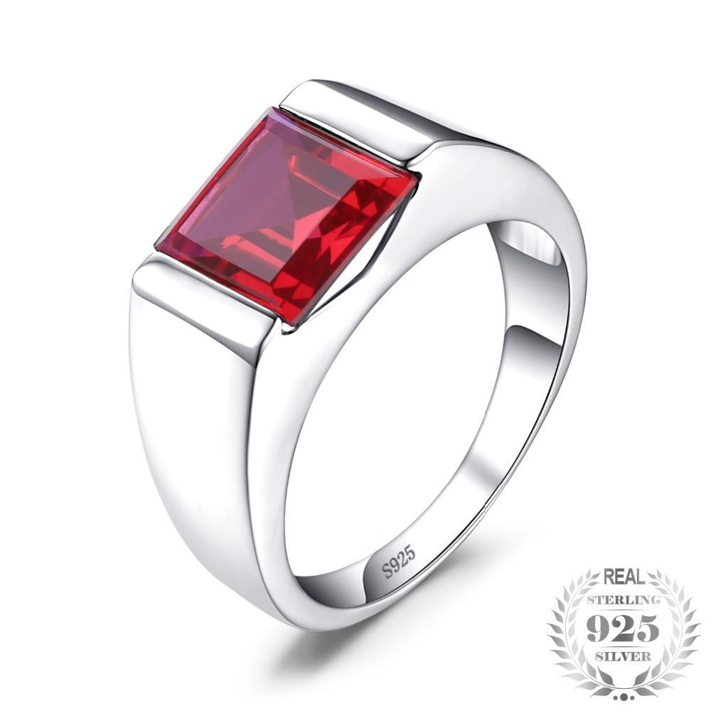 Pigeon Blood Ruby Ring - Jewellica.com