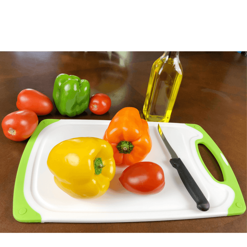 Red & Green Cutting Board - 16 x 10