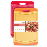 Red and Orange Cutting Board - 18 x 12